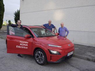 Nuovo record di autonomia di Hyundai Kona Electric