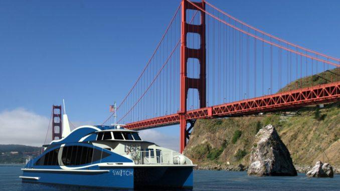 Pronto il traghetto a idrogeno di San Francisco