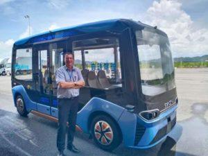 In Cina, sul bus elettrico a guida autonoma