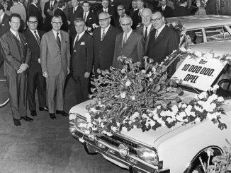 Storia. 50 anni fa Opel raggiungeva la 10milionesima auto prodotta