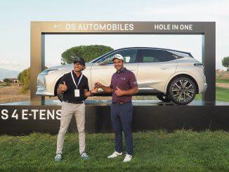 Edoardo Molinari si aggiudica la DS 4 E-Tense al 78° Opel d'Italia di Golf