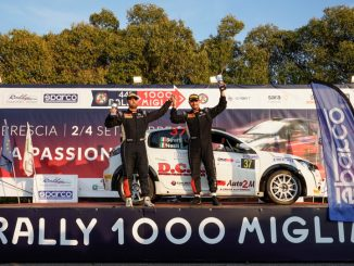 Peugeot 208 Rally Cup TOP. Mirco Straffi si rilancia al 1000Miglia
