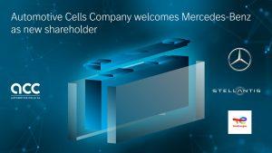 Mercedes Benz nuovo partner di Automotive Cells Company