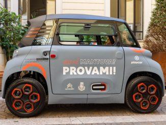 """Servizio di carsharing """"AMI Mantova"""" con Citroën Ami – 100% ëlectric"""