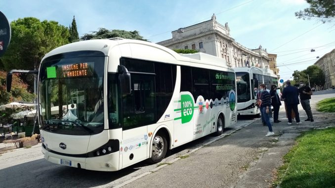 BYD consegna eBus ad Ancona