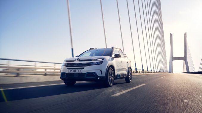 Rientro facile dalle vacanze grazie alla versatilità del SUV Citroën C5 Aircross Hybrid Plug-in