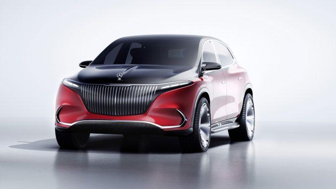 Il concept Mercedes-Maybach EQS, SUV elettrico in forma super-lux