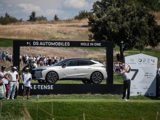 Il 78° Open d'Italia di Golf con DS Automobiles con la gamma E-Tense come protagonista