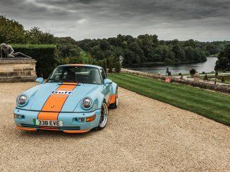 Porsche Gulf Signature Edition elettrica da Everrati