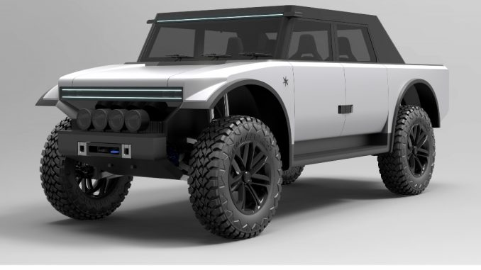 Fering Pioneer, veicolo ibrido per avventurieri, esploratori ed emergenze