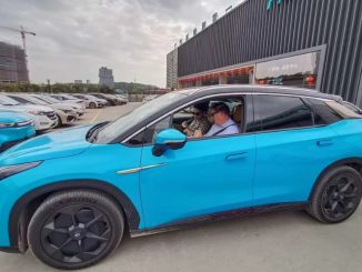 La vettura elettrica cinese Aion LX ha raggiunto i mille chilometri di autonomia
