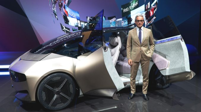 Massimiliano Di Silvestre, Presidente e CEO di BMW Italia all'IAA 2021