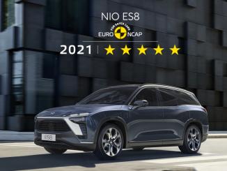Cinque stelle Euro NCAP alla NIO ES8