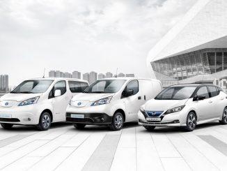 Nissan: venduti in Europa 250mila veicoli elettrici