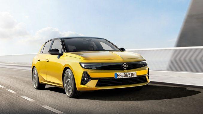 """La compatta nuova Opel Astra con design """"bold and pure"""""""