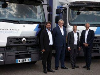 Venti camion elettrici Renault Trucks D Z.E. acquistati da Urby