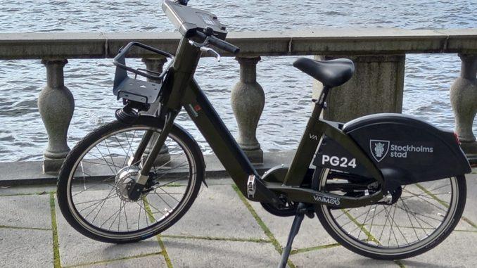 Nuovo e-bike sharing a Stoccolma con veicoli Vaimoo Made in Italy