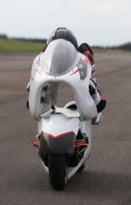 Tecnologia rivoluzionaria White Motorcycle Concepts punta al record mondiale elettrico di velocità