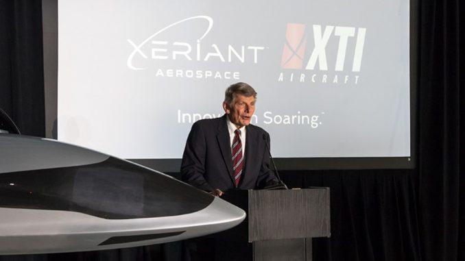 Lettera di intenti per la fusione tra Xeriant Inc. e XTI Aircraft