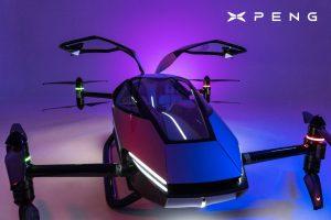 Svelata la gamma Xpeng Motors che include l'auto volante