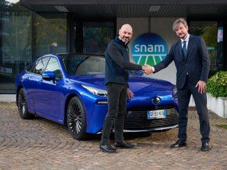 Intesa tra Snam, Toyota e CaetanoBus per la mobilità a idrogeno