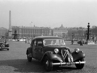Storia: la Citroën Traction Avant, prima auto di serie con trazione anteriore