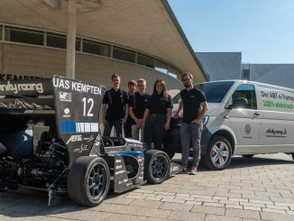 ABT e-Line supporta il progetto formula Infiniti Racing Kempten University