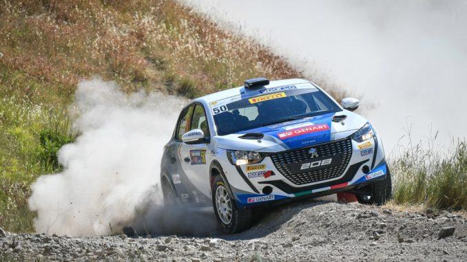 Andrea Nucita e Peugeot 208 Rally4 ufficiale vincono il Campionato Italiano Piloti Rally 2 Ruote Motrici