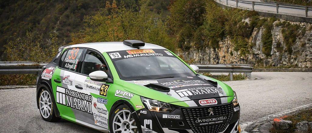 Peugeot Competition 208 Rally Cup Pro: Giovanella e Tondina campioni