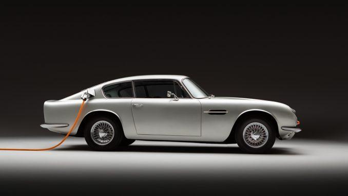 Lunaz ha elettrificato l'Aston Martin DB6
