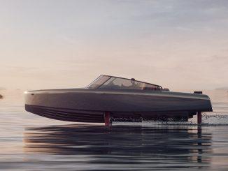 La barca elettrica volante Candela vende più delle barche con motore a combustione