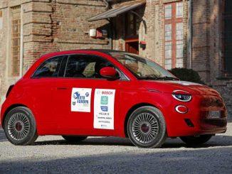 Fiat Nuova 500 elettrica è Auto Europa 2022