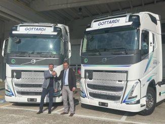 Gottardi Autotrasporti acquista due camion elettrici Volvo