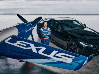 Lexus alla conquista del cielo