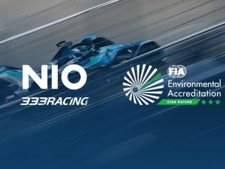 Il team NIO 333 Formula E ha ottenuto la certificazione ambientale FIA