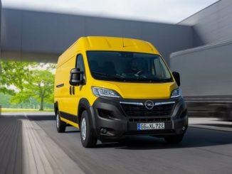 Ordinabile in Italia a partire da 25.520 Euro il nuovo Opel Movano