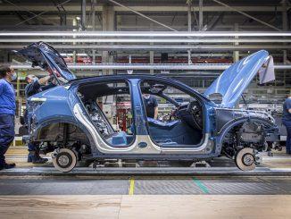 Avvio della produzione di Volvo C40 Recharge a Ghent, in Belgio