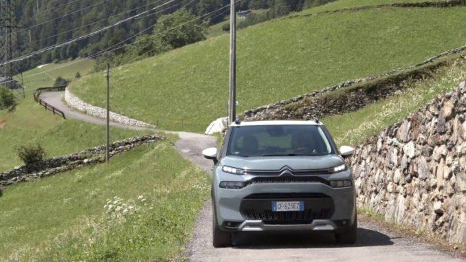 Il nuovo SUV Citroën C3 Aircross è ideale per la città e per il tempo libero