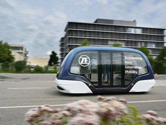 Navetta e servizi di guida autonoma forniti da ZF